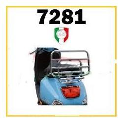 PORTAPACCHI POSTERIORE CROMATO VESPA 50 125 150 LX