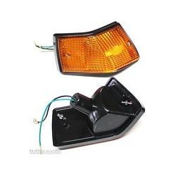 FRECCIA LAMPEGGIATORE POSTERIORE SX ARANCIO PER VESPA PX 80 100 125 150 200 E ARCOBALENO ETS T5