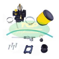 KIT ASPIRAZIONE CARBURATORE OKO 28 COMPLETO TOP TPR PER MINARELLI AM6/ DERBI 50