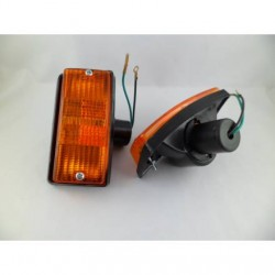 FRECCE LAMPEGGIATORI ANTERIORI ARANCIO VESPA PX 80 100 125 150 200 E ARCOBALENO - P 125 ETS T5 PK S AUTOMATICA