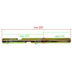 TUBO COMANDO GAS PER VESPA PK 50 125 XL 80 125 150 200 PX PE ARCOBALENO R.O. 139778