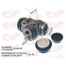 CILINDRETTO FRENO POSTERIORE PIAGGIO APE MP 501-P601-P601V 78/96 APE CAR P2