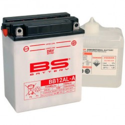 BATTERIA BS BB12AL-A 12V-12AH CON ACIDO