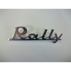 """SCRITTA""""RALLY"""" ALLUMINIO"""