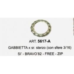 GABBIETTA PER SERIE STERZO CON SFERE 3/16 PIAGGIO SI-BRAVO 1982-FREE-ZIP