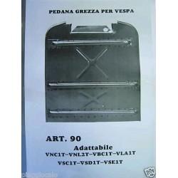 FONDO PEDANA PER VESPA VNC1T-VNL2T-VBC1T-VLA1T-VSC1T-VSD1T-VSE1T