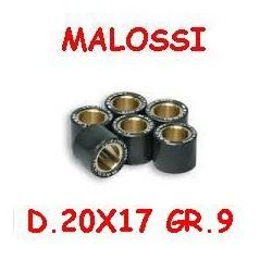 KIT RULLI MALOSSI D.20X17 GRAMMI 9